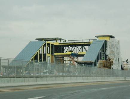 Meadowlands Rail Station on March 10, 2009