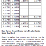 MTA LIRR - Get Me to the Game on Time- 4 PM Game Start