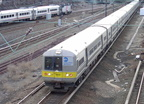 LIRR M-3 @ Sunnyside Yard. Photo by Brian Weinberg, 01/09/2003.