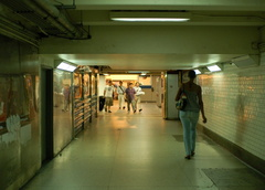 Hilton Passageway @ New York Penn Station