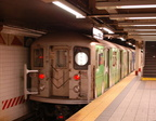 R-62A 1946 @ Grand Central (S) - Google wrap of shuttle