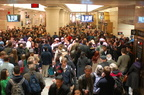 NJT Concourse @ Penn Station New York on the day before Thanksgiving 2008