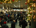 LIRR Concourse @ Penn Station New York on the day before Thanksgiving 2008