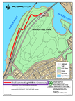 How to get from Henry Hudson Bridge walkway to HHP Greenway