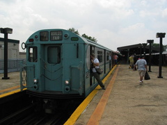 SubTalker R36 #9346 exiting the train. (Photo taken by David Greenberger)