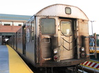 R-32 3645 @ Coney Island - Stillwell Av (Q). Photo taken by Brian Weinberg, 6/23/2004.