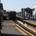 BU Gate Car @ Astoria Blvd (N/W). Note SubChatter Fred G running for his life. Photo taken by Brian Weinberg, 10/28/2004.