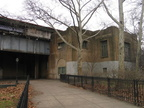 Parkchester station (Pelham Line), exterior. Photo taken by Brian Weinberg, 12/19/2004.