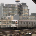 R-46 5994 @ Smith-9th St (F). Photo taken by Brian Weinberg, 1/3/2005.