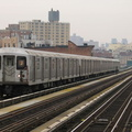 R-42 4582 @ Chauncey St (J). Photo taken by Brian Weinberg, 1/3/2005.