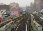 R-42 @ Flushing Av (M). Photo taken by Brian Weinberg, 1/3/2005.