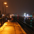 R-62A (in the distance) @ 231 St (1). Photo taken by Brian Weinberg, 2/22/2005.