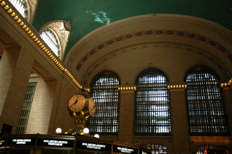 Grand Central Terminal. Photo taken by Tamar Weinberg, 6/5/2005.