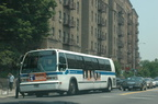 NYCT RTS 8841 (Bx7). Photo taken by Tamar Weinberg, 6/26/2005.