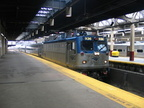 Amtrak AEM7 936 @ Newark Penn Station. Photo taken by Brian Weinberg, 7/17/2005.