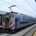 Metra 321 @ 55th-56th-57th Street Station, Chicago, IL. Photo taken by David Lung, June 2005.