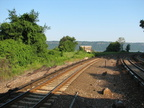 Former wye (now just a junction) at Spuyten Duyvil. Photo taken by Brian Weinberg, 8/3/2005.