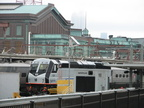 NJT PL42AC 4021 @ Hoboken Terminal. Photo taken by Brian Weinberg, 9/14/2005.