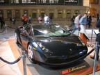 2005 Lamborghini Gallardo @ Grand Central Terminal. Photo taken by Brian Weinberg, 9/29/2005.