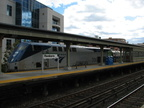 Amtrak P32DM-AC 706 @ Yonkers, NY (Train #283). Photo taken by Brian Weinberg, 10/16/2005.