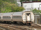 Amtrak coach @ Yonkers, NY (Train #283). Photo taken by Brian Weinberg, 10/16/2005.
