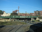 NJT Hoboken Division bridge just east of the Bergen Tunnel. Photo taken by Brian Weinberg, 10/30/2005.