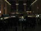 Grand Central Terminal, jam packed full of people leaving NYC before Thanksgiving. Photo taken by Brian Weinberg, 11/23/2005.