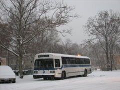 MTA Bus MCI Classic 7888 @ Riverdale (Bronx), NY (BxM1). Photo taken by Brian Weinberg, 12/9/2005.