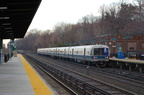 MNCR M-3a 8081 @ Riverdale (Hudson Line). Photo taken by Brian Weinberg, 1/12/2006.