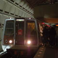 WMATA 3151 @ Union Station (Red Line). Photo taken by Brian Weinberg, 1/22/2006.