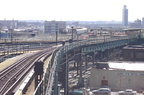 R-143 8253 @ Atlantic Av (L). Train is on the old alignment. Photo taken by Brian Weinberg, March 9, 2003.