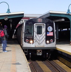R-143 @ Broadway Junction (L). Photo taken by Brian Weinberg, March 9, 2003.