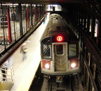 R-142 @ 14 St-Union Sq (4). Photo taken by Brian Weinberg, March 9, 2003.