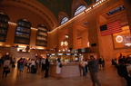 Grand Central Terminal - Main Concourse and Information Booth. Photo taken by Brian Weinberg, 6/28/2006.