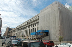 Farley Post Office - future Moynihan Station. Photo taken by Brian Weinberg, 7/23/2006.