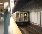 R-40 @ Times Square - 42 St (W) - southbound platform.