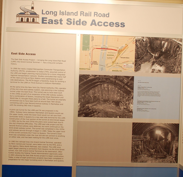 LIRR ESA display @ GCT. Photo taken by Brian Weinberg, 12/17/2006.
