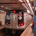 R-160A-2 8653 @ 59 St - Columbus Circle (A). Set is on 4th run of second day of 30-day test. Photo taken by Brian Weinberg, 10/1