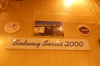 Subway Series 200 display @ East 180th Street Maintenance Facility (Bronx). Photo taken by Brian Weinberg, 4/15/2007.