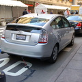 Toyota Prius with Hybrid Synergy Drive @ Vanderbilt Avenue and 44th Street (Grand Central Terminal) as part of a display in an E