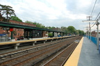 New northbound platform and temporary southbound platform @ Irvington (MNCR Hudson Line). Photo taken by Brian Weinberg, 5/17/20