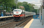 Metro-North Commuter Railroad P32AC-DM 228 @ Irvington (Hudson Line). Photo taken by Brian Weinberg, 5/17/2007.