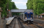Metro-North Commuter Railroad M-7A 4076 @ Irvington (Hudson Line). Photo taken by Brian Weinberg, 5/17/2007.