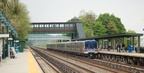 Metro-North Commuter Railroad M-7A @ Riverdale (Hudson Line). Photo taken by Brian Weinberg, 5/20/2007.