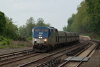 Amtrak P32AC-DM 704 @ Riverdale (Empire Service train #242). Photo taken by Brian Weinberg, 5/20/2007.