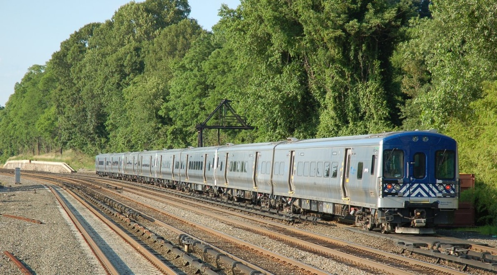 Metro-North Railroad M-7A 4114 @ Riverdale (Hudson Line). Photo taken by Brian Weinberg, 6/24/2007.