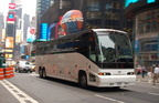 Uniworld Tours MCI E4500 2004 @ Times Square. Photo taken by Brian Weinberg, 7/10/2007.