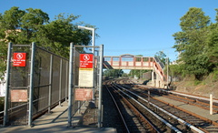 Tottenville (SIR). Photo taken by Brian Weinberg, 7/12/2007.