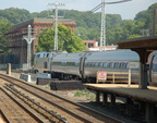 Amtrak P32AC-DM 712 @ Ossining (Empire Service). Photo taken by Brian Weinberg, 7/27/2007.