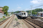 Metro-North Commuter Railroad Shoreliner Cab 6109 @ Ossining (Hudson Line). Action shot. Photo taken by Brian Weinberg, 7/27/200